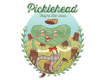 Picklehead Pickles Logo