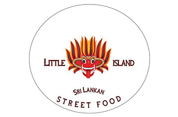 Little Island Street Food Logo